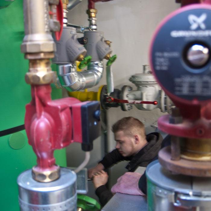 Entkalkung Boiler
